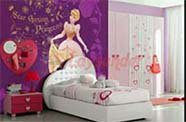 Wallpaper Digital Printing Kamar Anak