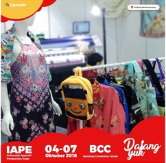 Pameran IAPE - Indonesia Apparel Production Expo